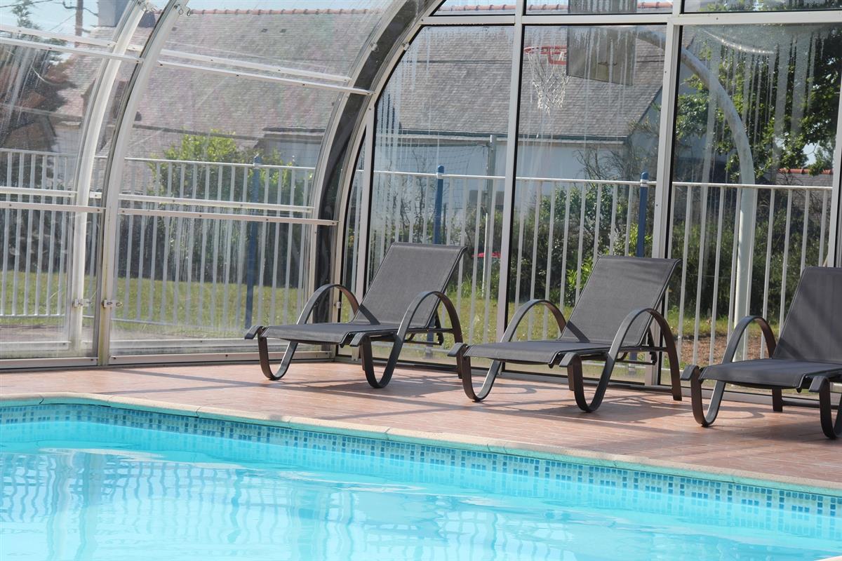 mobil home vendre dans camping trois toiles avec piscine couverte et chauffe dans le sud